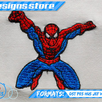 SPIDERMAN EMBROIDERY DESIGN machine pattern super hero