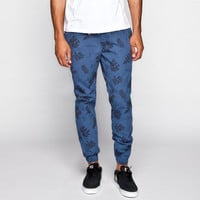 Vans Chevron Mens Jogger Pants Tropical Navy  In Sizes