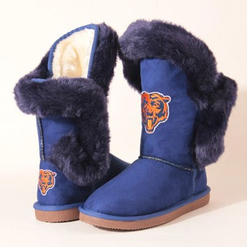 "Chicago Bears Women's Cuce Official NFL ""Champions"" Boots"
