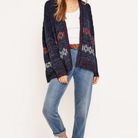 BDG Hexagon Cardigan - Urban Outfitters
