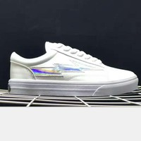 Revenge x Storm x Vans lightning Kanye West Old Skool Canvas Flat Sneakers Sport Shoes