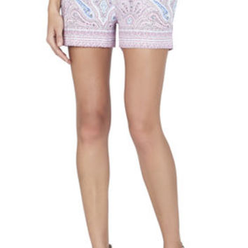 BCBG Connor Signature Paisley Printed Shorts