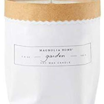 Garden Paper Candle By Magnolia Home