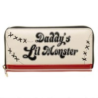 Suicide Squad Harley Quinn Daddy's Little Monster Zip Wallet |