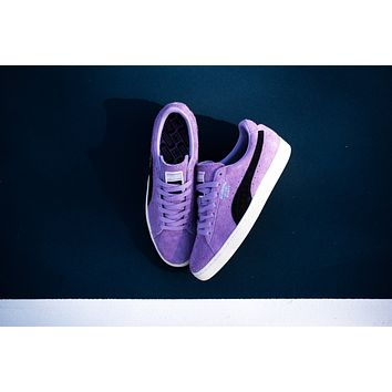 AA HCXX Puma Suede x Diamond Supply Co. - Orchid Bloom/Puma Black