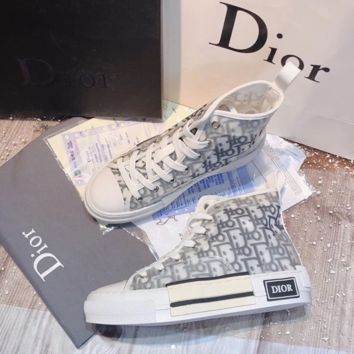 DIOR Fashion Letter recreational sneakers