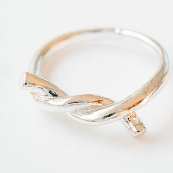 925 tie the knot ring