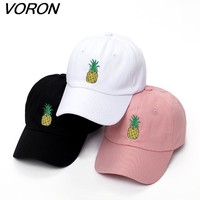 Pineapple Dad Hat Baseball Cap