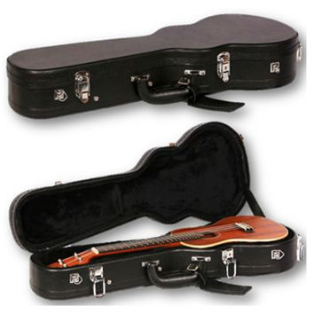 Ukulele Black Hard Case