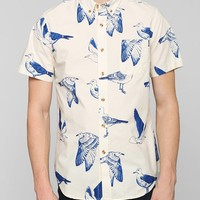 OBEY Seagull Button-Down Shirt - Urban Outfitters