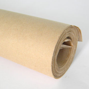 Kraft Wrapping Paper Roll, 30 Feet, Eco Friendly Gift Wrap, Gift Packaging, Kraft Brown Paper