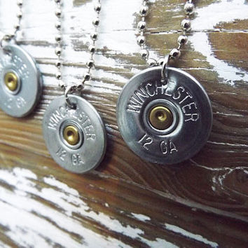 silver shotgun, shotgun necklace, country jewelry, country wedding gift, bullet necklace, bullet jewelry, pistol gun necklace, western ammo