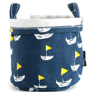 Deauville Recycled Canvas Bucket