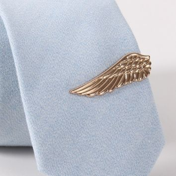 Vintage Golden Wings Tie Clip