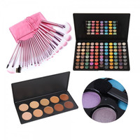 22pcs Makeup Brush 88 Color Eyeshadow 10 Colors Concealer Camouflage Makeup Palette Set