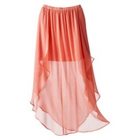 Xhilaration® Juniors High Low Illusion Maxi Skirt - Assorted Colors