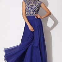 Empire waist gown 91011 - Prom Dresses