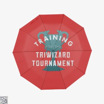 Training Triwizard Tournament, Harry Potter Umbrella