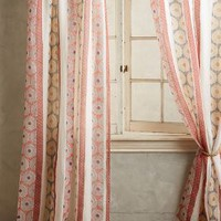 Falling Circles Curtain by Anthropologie