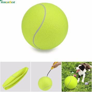 Pet Toy 24CM Giant Inflatable Tennis Ball