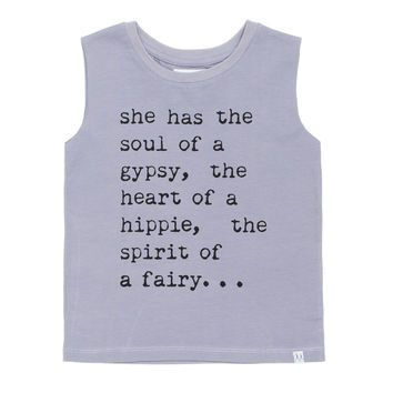Children of the Tribe Gypsy Soul Muscle Tee