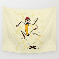 Marionette Wall Tapestry by Giuseppe Lentini