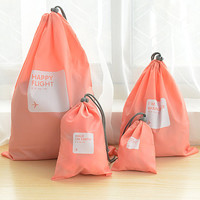 Nylon travel bags perfect for laundry separation and storage