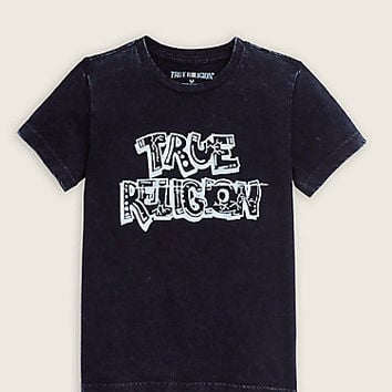 TR WASHED DOWN TODDLER/LITTLE KIDS TEE