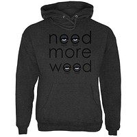 Need More Marijuana Mens Hoodie