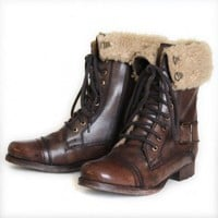 $119.99 Brown Boots by Diba at ShopRuche.com