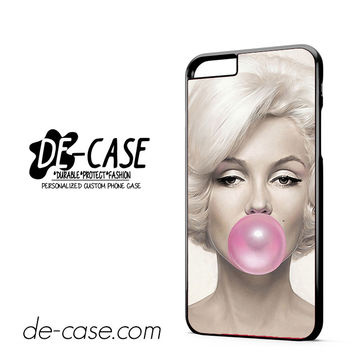 Marilyn Monroe Bubble Gum DEAL-6861 Apple Phonecase Cover For Iphone 6/ 6S Plus