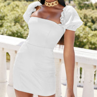 Hot style hot sell short sleeve sexy dress wrap the chest