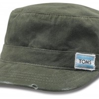 TOMS Military Olive Hat