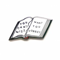 Forget Book Pin