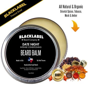 Date Night Styling Beard Balm | Premium All Natural Beard Balm