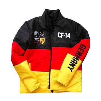 ONETOW Club Foreign Germany Race Bubble Jacket
