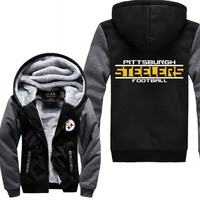 Pittsburg Steelers Fleece Jacket