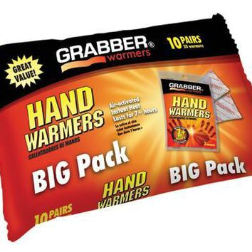 Complete Medical Arthritis Hand Warmers Pack/10 J-Hook Poly Bag 3  X 8.5
