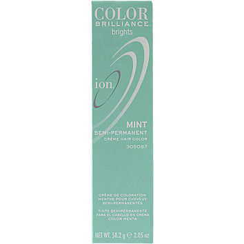 Ion Color Brilliance Brights Semi-Permanent Hair Color Mint
