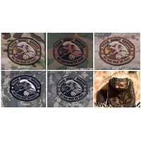 """BuckUp Tactical Morale Patch Hook Honey Badger Patches 3.25"""""""