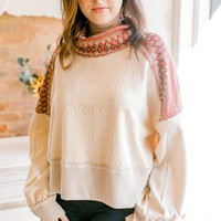 Free People At The Lodge Tee -Ivory