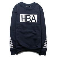 Trendsetter HBA Women Men Fashion Casual Top Sweater Pullover