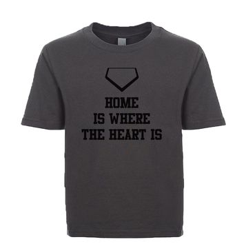 Home Is Where The Heart Is Unisex Kid's Tee