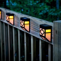 Mission-Style Solar Outdoor Sensor Path Lamp