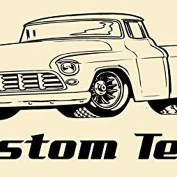 Fast Ford Chevy Truck Car Wall Decals Stickers Graphics Man Cave Boys Room Décor