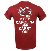 South Carolina Gamecocks Keep Carolina T-Shirt - Garnet