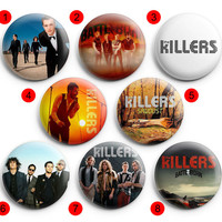 The Killers  Pinback Buttons Badge ,Pin Badge Buttons 1.5 inch / 38 mm round buttons