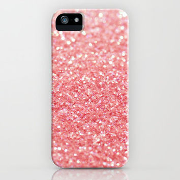 coral pink iPhone & iPod Case by ingz