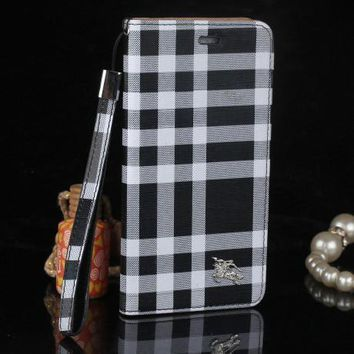 burberry fashion print iphone phone cover case for iphone 6 6s 6plus 6s plus 7 7plus2