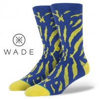 Stance | Mali Blue, Yellow socks | Buy at the Official website Main Website.